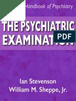 Psychiatric Examination