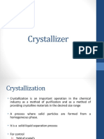 Crystallizer Design