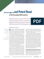 Dell Background Patrol Read