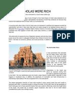 Chola History