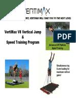 V8 Speed - Vertical Training Program