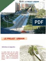 TD 9 Le Projet Urbain