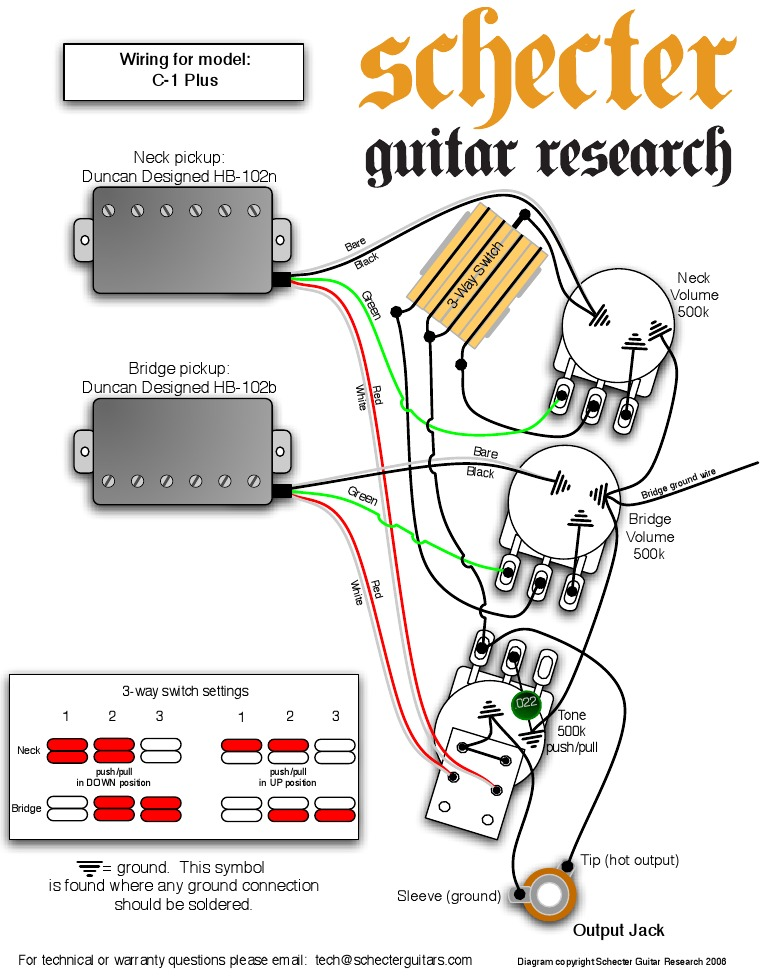 1503922292 schecter diamond series bass wiring diagram efcaviation com Schecter Diamond Series Wiring Diagram at gsmportal.co