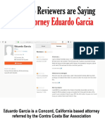 Attorney Eduardo Garcia Reviews