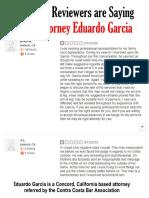 Attorney Eduardo Garcia Reviews from Yelp