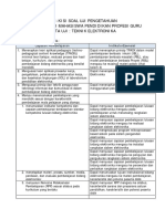 Kisi-kisi Soal Uji Pengetahuan PPG