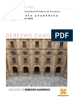 Guia Derecho Canonico 2017 18