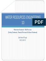 Water and Waste Water Lecture 10