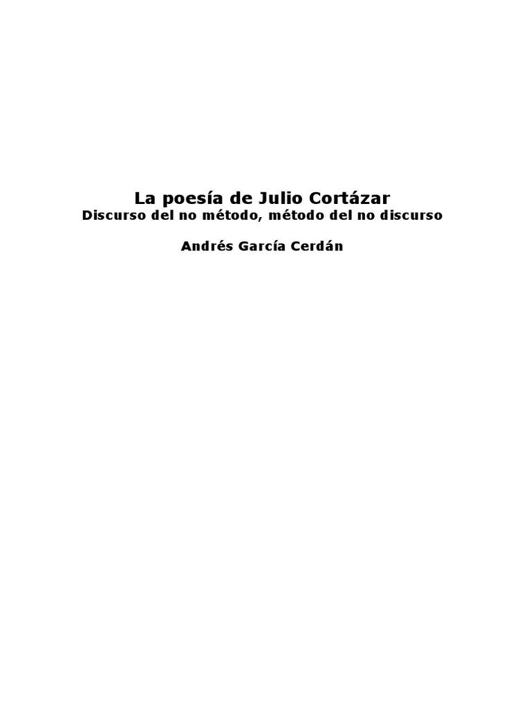 La poesía de Julio Cortázar
