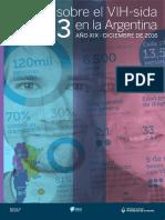 Boletin HIV Sida 2016