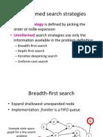 Lec05 Uninformed Search