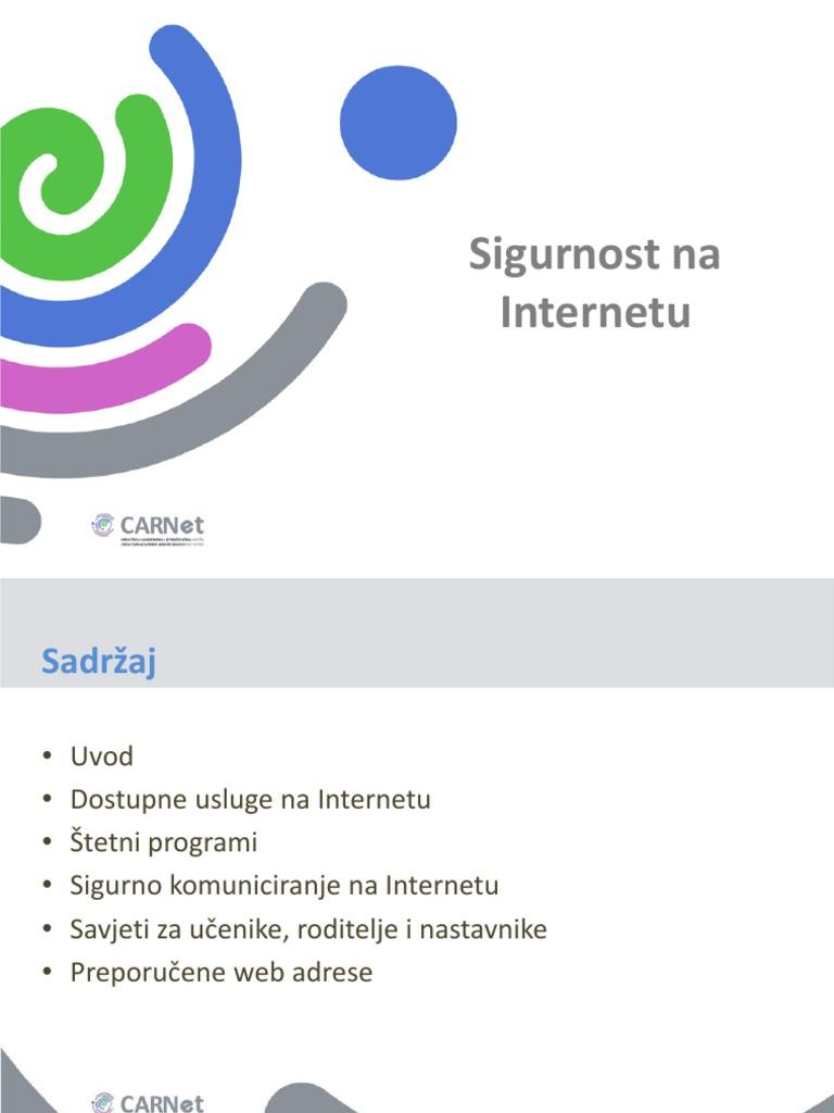 savjeti za sigurnost putem interneta najbolje mjesto za razgovor i upoznavanje