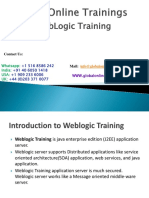 Weblogic Training PDF