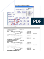 Perhitungan Tulangan Pokok Dan Geser Balok Dengan SAP2000