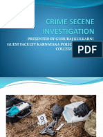 Crime Secene Investigation