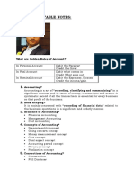 Accounts Payable Notes 123