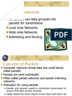 Packet Transmission Topologies Network Devices