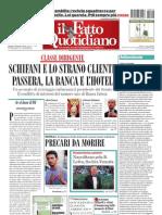 Il Fatto Quotidiano Del 2 Settembre 2010