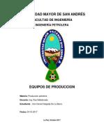 prduccion informe