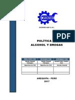 Sho-sso-pol-02 Politica de Alcohol y Drogas