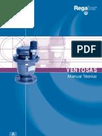 Manual Válvulas Ventosa