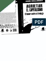 Agrietar el Capitalismo - El hacer contra el trabajo - John Holloway.pdf
