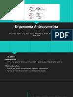 Ergonomía-Antropometría
