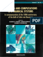 Modeling and Computations in Dynamical Systems Dedicated to John Von Neumann