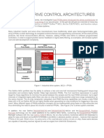 Industrial Drive Control Architectures