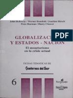 Globalizacion y Estados Nacion