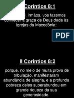 II Corintios - 008