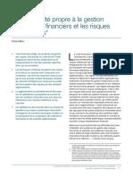 La Coplexité de La Gestion Du Risque Financier