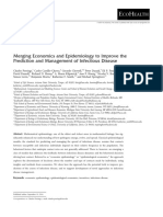 Merging Economics and Epidemiology to Improve The
