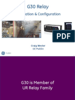 GE Multilin-g30 Training 050908