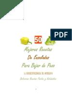 Fortunato Mario - 50 Mejores Recetas de Ensaladas Para Bajar de Peso