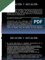 Inflaciòn y Deflaciòn
