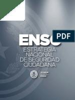 Estrategia Nacional de Seg Ciudadana