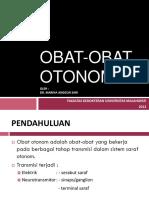 Obat-Obat Otonom