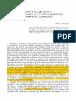 Sexo y Clase Social en Fortunata y Jacinta Opresion Represion Expresion