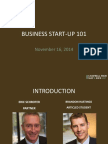 Business Start Up 101