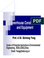 China - Greenhouse Construction and Equipment
