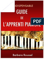 Guide de Lapprenti Pianiste