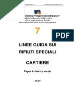 ARPA Liguria - Produzione e gestione dei rifiuti del comparto cartiario.pdf