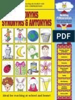 Homonyms Synonyms Antonyms