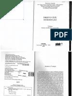 Direito Civil Introdução - Francisco Amaral - Capítulos 1 e 2