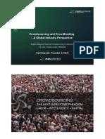 Crowdsourcing Report 2011
