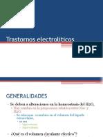 dESQUILIBRIO HIDROELECTROLÍTICOS