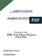 MIA MUHAMMAD NAWAZ SHARIF,Pak.studies Presentation