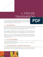 Vias transmision VIH