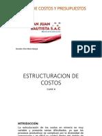 Estimación de Costos y Presupuestos Clase II